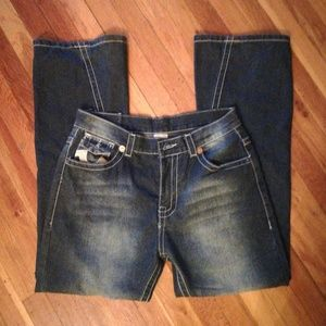 True religion blue mens billy  jeans size 34